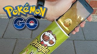 Download Hatching Pokemon GO Eggs With Pringles Can Video