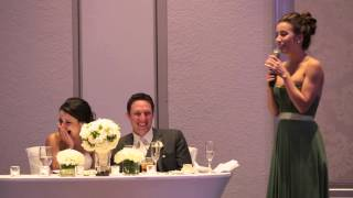 Download My Sister's hilarious maid of honor speech! Video