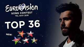 Download Eurovision 2019 - Top 36 (So far) + 🇦🇿🇦🇹🇲🇰🇮🇪🇵🇱 Video