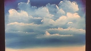 Download #56. how to paint easy clouds (acrylic) Video