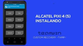 Download Instalando Custom Recovery TWRP no Alcatel Pixi 4 (5) 5045 Video