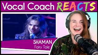 Download Vocal Coach reacts to André Matos SHAMAN - Fairy Tale Live Video