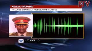 Download UPDF officer shoots dead former Royal Guard of Ruwenzururu King Charles Mumbere Video