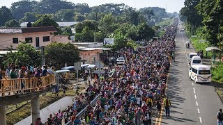 Download Выборы в США 2018 - караван мигрантов - беженцев движется через Мексику чтобы поджечь Белый Дом Video
