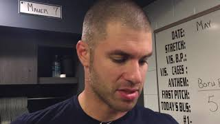 Download Joe Mauer breaks down his baserunning play to score go-ahead run in 5-3 win over White Sox Video