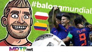 Download Colombia 3 Polonia 0 #BalongMundial E17 Video