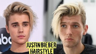 Download Justin Bieber Hairstyle & Haircut Tutorial 2018 - Mens Long Hair Style Video