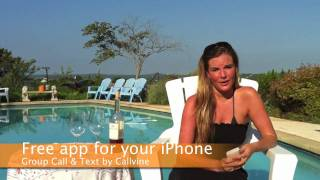 Download Callvine Group Text Messaging free app for your iPhone 3, 3GS or 4 on iOS4 Video