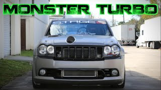 Download MONSTER TURBO 1300HP Jeep SRT8 - AWD Beast! Video
