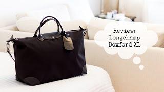 Download Longchamp Boxford Travel Bag XL Review Video