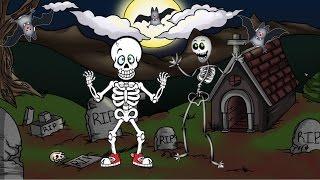 Download Las Calaveras Salen de Su Tumba Chumbala Cachumbala - Canciones Infantiles de Halloween Video