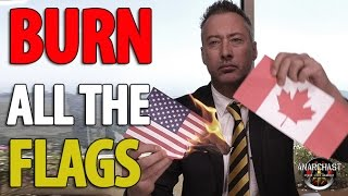 Download Traitor Burns the US flag on YouTube In Response To Trump Tweet Video