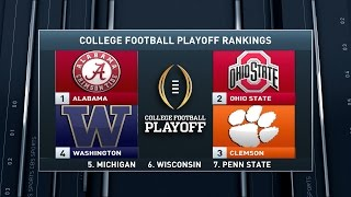 Download Inside College Football: Rankings reactions Video