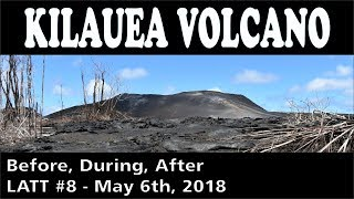 Download Hawaii Kilauea Volcano Eruption Before During After LATT #8 Video