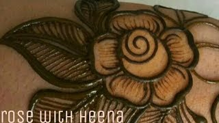 Download How to make rose with mehndi just simple step(for beginner) Video