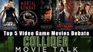Download Top 5 Video Game Movie Debate - Collider Movie Talk Video