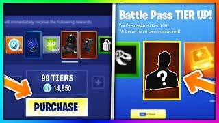 Download BUYING EVERY SEASON 3 BATTLE PASS TIER in Fortnite: Battle Royale (New Skins & Items Showcase) Video