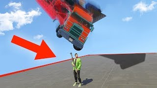 Download DODGE THE 500MPH TRUCK OR DIE! (GTA 5 Funny Moments) Video