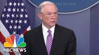 Download Jeff Sessions To Sanctuary Cities: Comply With Laws Or Lose Federal Grants | NBC News Video