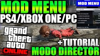 Download GTA 5 ONLINE 1.33 MOD MENU PARA PS4/XBOX ONE INMORTAL, SUPERSALTO MODO DIRECTOR GTA V ONLINE 1.33 Video