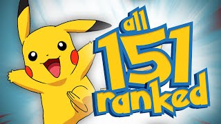 Download Ranking All 151 Original Pokémon From Worst To Best Video