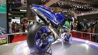Download Soi siêu xe 22 tỷ được gắn cờ VN do Valentino Rossi cầm lái có những gì - Yamaha YZR-M1 2017 Video