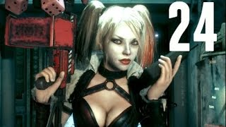 Download Batman Arkham Knight Walkthrough Gameplay Part 24 - Harley Quinn (PS4) Video
