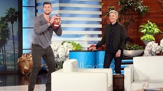 Download Tim Tebow and Andy Play Catch for a Good Cause Video