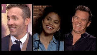 Download DEADPOOL 2 Interviews: Ryan Reynolds, Josh Brolin, Zazie Beetz, Julian Dennison and Deadpool Video