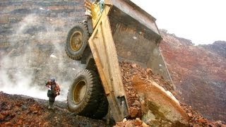 Download Heavy machinery accidents, mishaps and other interesting mining photos Video