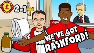 Download 🎵WE'VE GOT RASHFORD!🎵 Man Utd vs Liverpool 2-1: THE SONG! (parody goals highlights) Video