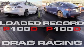 Download Tesla Model S P100D new record and fully loaded 1/4 Mile Testing vs Camaro ZL1 and BMW 550i Video