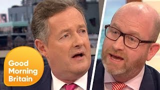 Download Piers Morgan Argues Against Paul Nuttall's Sharia Law Ban | Good Morning Britain Video