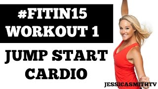 Download Exercise to lose weight fast at home | ″Jump Start Cardio″ 15-Minute Fat Burning Fitness Program Video