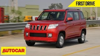 Download Mahindra TUV300 AMT | First Drive | Autocar India Video