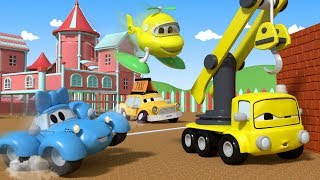 Download Play the Statues with the Baby Cars in Car City ! - Cartoon for kids Video