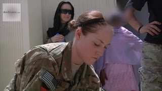 Download Female Engagement Team Teaches First Aid To Female Afghan Police Video