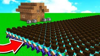 Download 1,000 FANS vs WORLDS WORST MINECRAFT HOUSE! Video