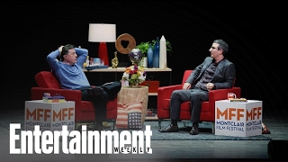 Download John Oliver & Stephen Colbert Talk Donald Trump And Election | News Flash | Entertainment Weekly Video