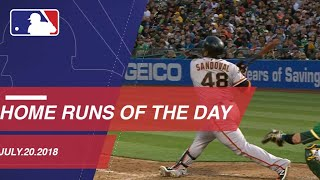 Download All home runs from July 20, 2018 Video