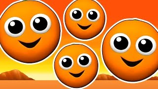Download The Orange is Orange EPIC | Learn Colors for Children, 3D Kids Colours, Songs Rhymes, Busy Beavers Video