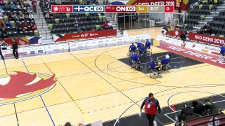 Download 2019 CWG - Wheelchair Basketball - Game 19 - QC vs ON Video