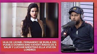 Download Hija de Leonel Fernandez se burla de RD exhortándolos a luchar mientras ella vive en Londres Video