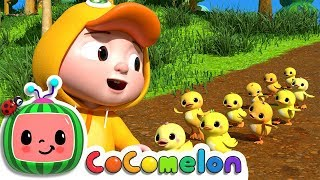 Download Ten Little Duckies (A Counting Song) | CoCoMelon Nursery Rhymes & Kids Songs Video