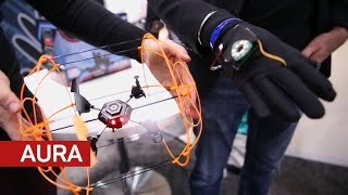 Download Aura is a drone you fly with hand gestures Video