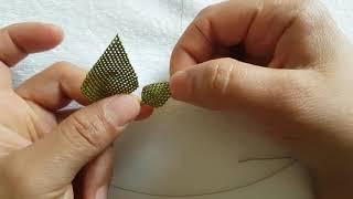 Download İğne oyası yaprak yapımı ve başta ortada sonda arttırma işlemi Video