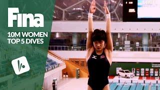 Download Top 5 Dives Women's 10m Final | FINA/NVC Diving World Series - Beijing 2017 Video