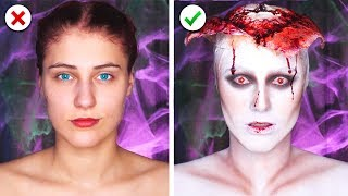 Download 6 Scary Last Minute Halloween Makeup and Costume Ideas Video