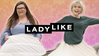 Download We Wore Hoopskirts For A Day • Ladylike Video