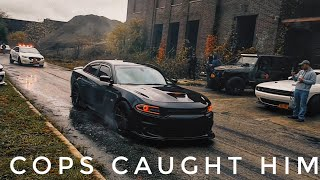 Download Charger Scat Pack Does Massive Burnout And This Happened Video